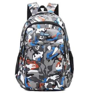 🚚 Camouflage primary School bag Backpack