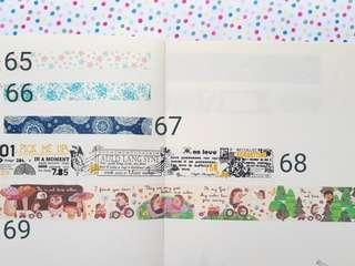 Washi Tapes | Masking Tapes