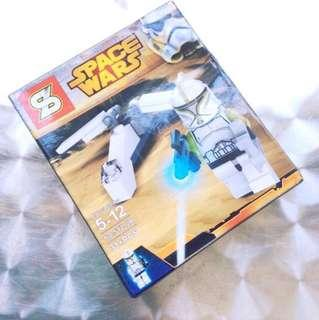 Space Wars Lego-Inspired Set (A).