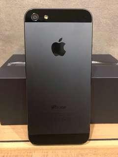 🚚 iphone 5 16gb black damaged faulty spoilt used