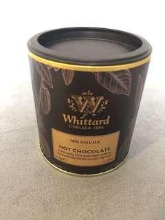 Whittard 70% Cocoa hot chocolate powder 120g