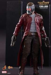 Hot Toys StarLord Star lord Gotg Volume 1