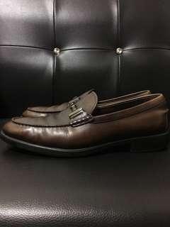 🚚 TOD'S Loafers 鐵扣 樂福鞋 深咖啡 UK10 專櫃正品