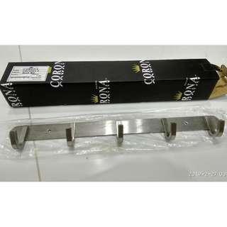 NEW & UNUSED Corona Hook Bar for Kitchen Bathroom CRC8003-5 - 4pcs available!