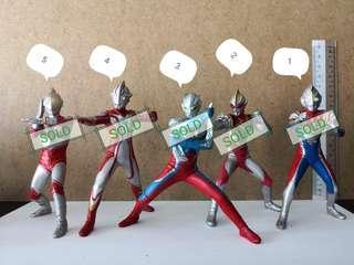 Ultraman figurines
