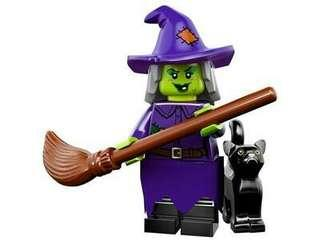 Lego Series Minifigure - The Wacky Witch