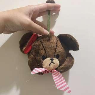 🚚 小熊 鑰匙零錢包