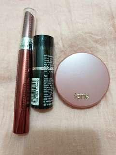 Tarte blush + Revlon + Silkgirl Lips