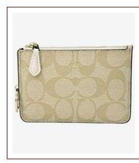 coach coin purse new 13x9cm 全新未拆袋