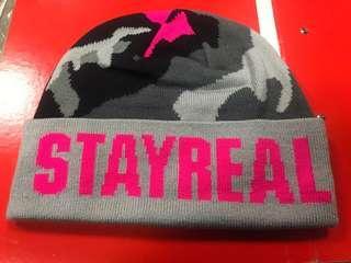 🚚 Stayreal帽子-粉色