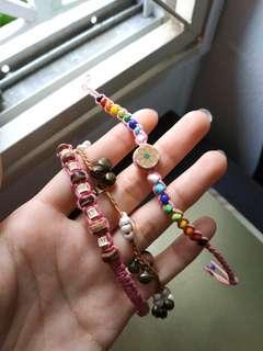Colourful Bracelets [handmade]