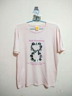 Kaos Merchandise 9th Anniversary SKE48 Original
