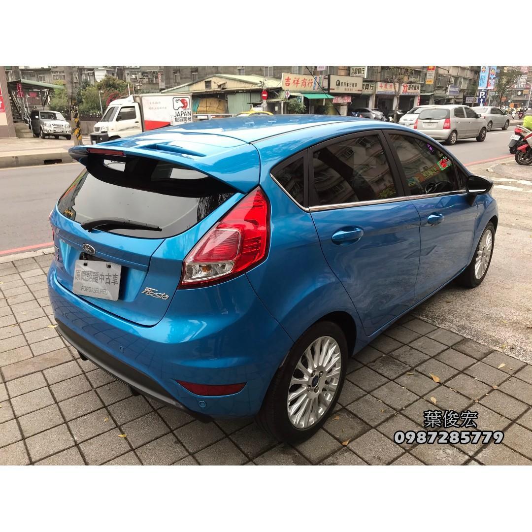 福特原廠認證中古車2014年Ford Fiesta EcoBoost 1.0s 汽油渦輪五門 原廠認證 里程極少