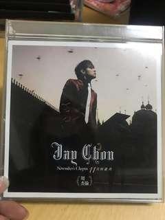 🚚 二手收藏正版全新CD。周杰倫專輯