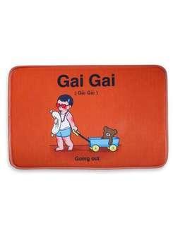 🚚 When I was Four Orange Gai Gai Floor mat