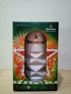 🚚 (全新)海尼根鋒格星瓷杯,520cc #半價良品市集