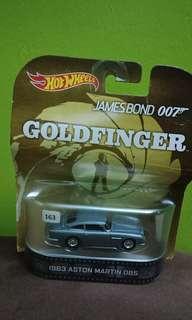 Hot wheels jamesbons 007 Goldfinger