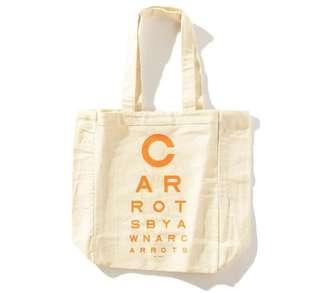 Carrots Beta-Carotene Tote Bag