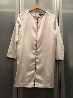 Zalora Panel shift dress