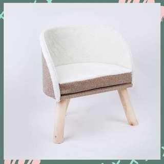 ✨Deluxe Cat Bed/Sofa (Linen Brown)