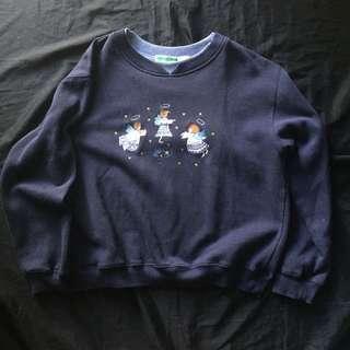 Navy blue Sweater