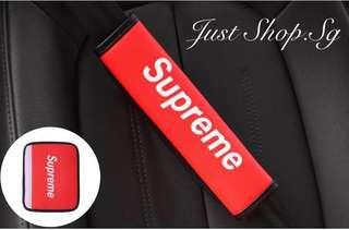 Supreme Car Seat Belt Leather Cover