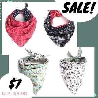 Instock! Reversible cat/dog scarf