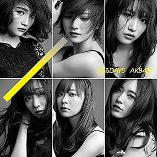 AKB48 - 55th single Jiwaru DAYS