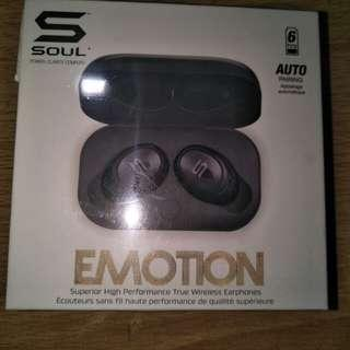 BRAND NEW* soul emotion wireless headphones