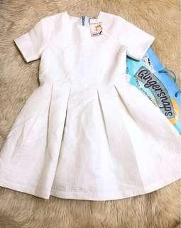 White dress Gingersnaps