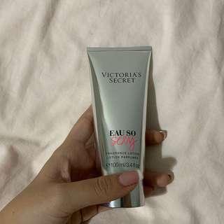 victoria's secret eau so sexy fragrance lotion