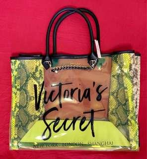 Victoria's Secret Neon Phython Angel City Tote