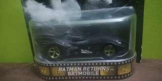 Hot wheels batman returns batmobile
