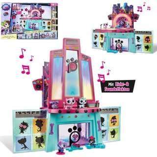 Little Pet Shop Pawza Hotel Playset Original