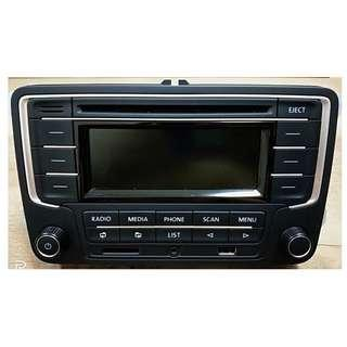 VOLKSWAGEN RCD320 Player Radio with Bluetooth VW 6RF.035.185 Vento Polo