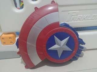 Nerf hasbro captain america avengers
