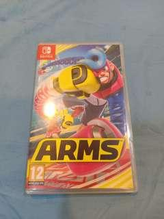 Nintendo Switch Used Game Arms Game