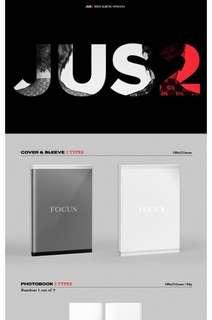 [PO] GOT7 JUS2 Mini Album - Focus
