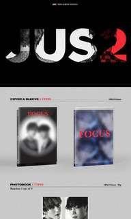 [non-profit PO] GOT7 JUS2 Mini Album - Focus