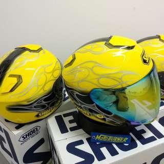 Shoei Reborn Yellow JDM