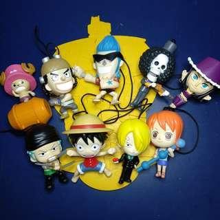 One Piece McDonald's Toys