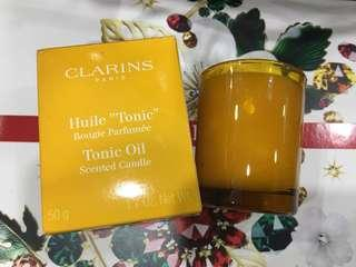 🚚 CLARINS relaxing perfume aroma Candle