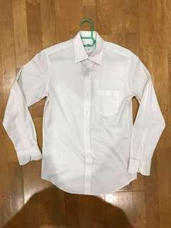Uniqlo Slim White Shirt