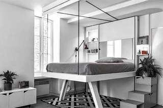 Custom Built Space Saving Bed Vanishing Ceiling