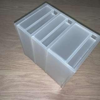 🚚 translucent plastic table drawer (small)