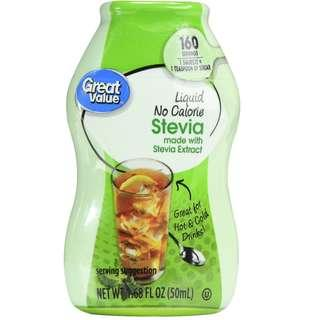 🚚 Stevia Liquid 0 Calorie Sweetener