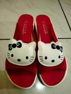 🚚 Kitty厚底拖鞋