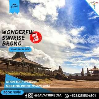 Open Trip Bromo Midnight via Malang Kota