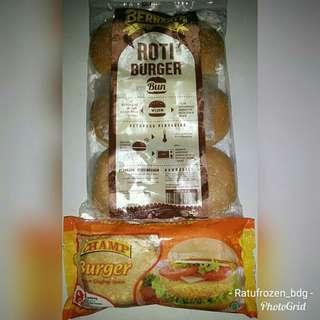Paket Chicken Burger Isi 6
