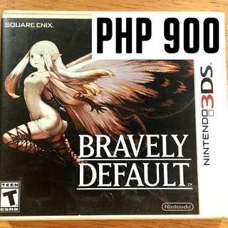 BRAVELY DEFAULT: NINTENDO 3DS GAME // SALE!!!!